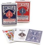 48 Braille Pinochle Playing Cards