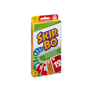 42050 Braille Skip Bo Card Game