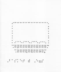 07001001 Braille Easter